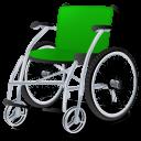 Green, Wheelchair icon