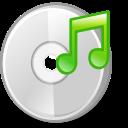 cdrom, audio, media icon