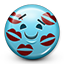Emot Kiss Marks Kissed icon