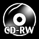 Black CDRW icon