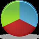 chart,graph,pie icon