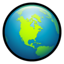 world,globe,earth icon