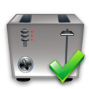 Ok, Toaster icon