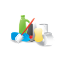 janitor, cleaning, materials icon
