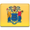 new, jersey, flag icon