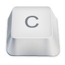 letter uppercase C icon