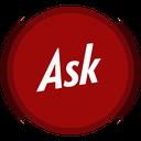 social, ask icon