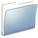 Graphite Smooth Folder Generic icon