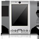 black, pda icon
