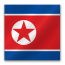 north,korea icon