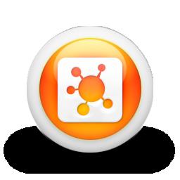 logo, square, propeller icon