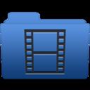 smooth navy blue videos 1 icon