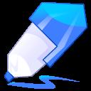 blue, pen, edit, write icon
