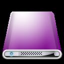 Drives Colours Purple icon