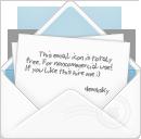 Envelope, Open icon