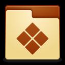 Places folder wine icon