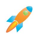 marketing, web, communication, connection, conversion, rocket, internet, traffic, vehicle, network, transport, seo icon