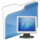 ecran, dossier icon