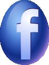 easter, facebook, egg icon