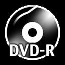Black DVDR icon