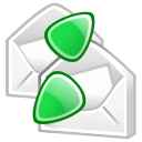 envelop, send, email, mail, receive, letter, message icon
