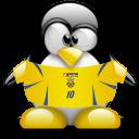 penguin, ukraine, animal icon