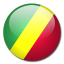 country, flag, congo, republic icon