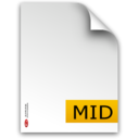 mid,fileextension icon