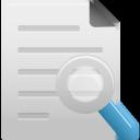 file, search icon