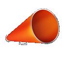bullhorn, advertising, blog icon