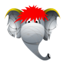 elephant, friend icon
