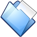 paper, folder, document, file icon
