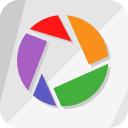 logo, picassa, google, square, balvardi, picasa icon