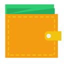 wallet, money, cash icon