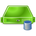 server,database,green icon