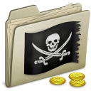 lightbrown,pirate icon