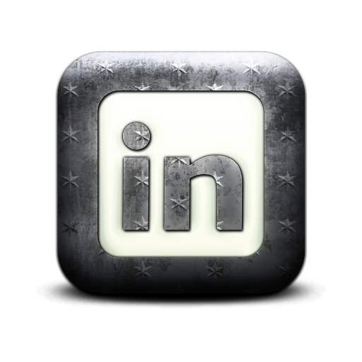 square, logo, linkedin icon