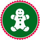 Christmas Gingerbread Cookies icon