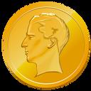 gold, money, napoleon, base, coin, cash, finance icon