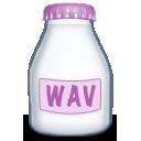 wav, type, fyle icon
