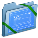 blue,theme icon