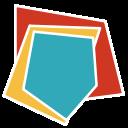 business, report, diagram, chart, black background, radar chart, analytics icon