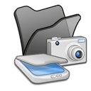 &, folder, scanners, cameras icon