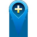location, add, pin icon