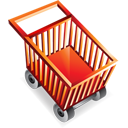 webshop, shoppingcart, e commerce, blank, empty icon