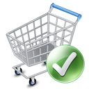shopping cart, exclude, webshop, added, ecommerce icon