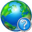 world, help icon