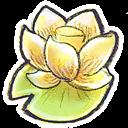 Flower, g, Lotus icon