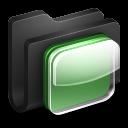 iOS Black Folder icon