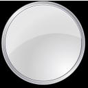 round, grey, circle icon